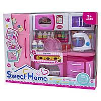 """Кукольная кухня """"Родной Дом""""-2, розовая, 37x11,5x28,5см арт. 2803S"""
