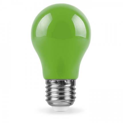 Светодиодная лампа Feron LB-375 3W E27 зеленая, фото 2