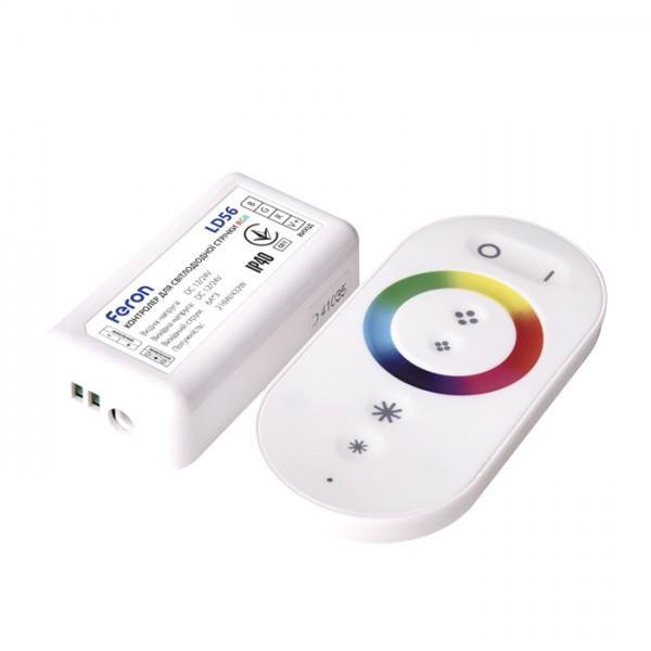 Контролер Feron для стрічок RGB LD56