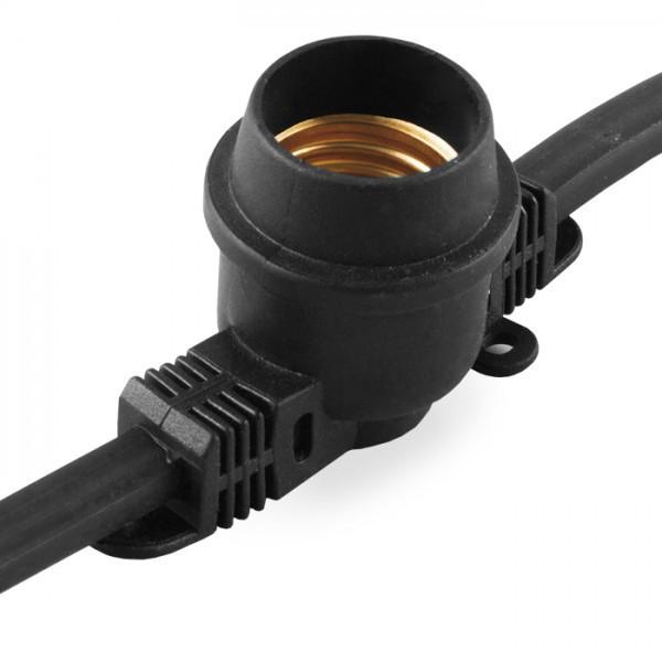 Вулична гірлянда Белт-лайт CL50-50 чорний
