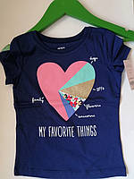 Симпатичная футболка Carter´s, для девочки carter's размер 5Т