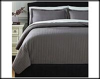 Декоративное покрывало на кровать,250x250 см, серый, фото 1