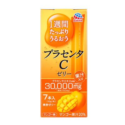Японская питьевая плацента в форме желе  Earth Placenta C Jelly Mango (на 7 дней) 70g
