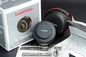 Samyang AF 35mm f2.8 EF for Sony
