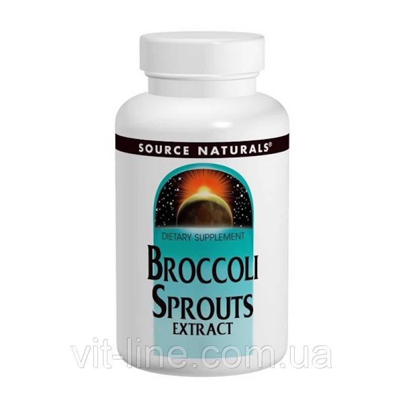 Source Naturals, Экстракт капусты брокколи, 60 таблеток