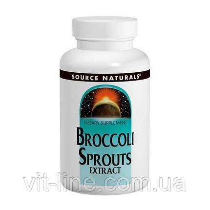 Source Naturals, Экстракт капусты брокколи, 60 таблеток, фото 2