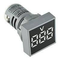 Вольтметр АСКО-УКРЕМ ED16-22 FVD белый 30-500В АС