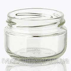 Банка стеклянная 100 мл с горловиной твист (48 штук в упаковке)
