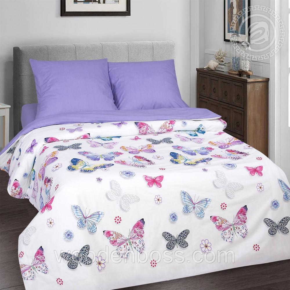 """Комплект постельного белья """"Бабочки"""", поплин"""