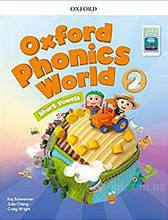 Oxford Phonics World 2: Short Vowels Student's Book with App Pack / Учебник