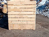 Контейнер овощной 1600х1200х1240 мм, фото 7