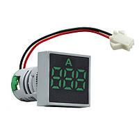 Амперметр АСКО-УКРЕМ ED16-22 FAD зеленый 0-100А