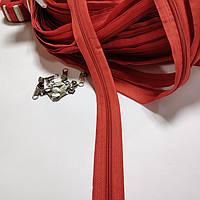 Молния рулонная, цвет: красный (мебельная застежка для чехла)