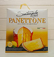 Пирог с лимонной начинкой панеттоне Santangelo Panettone, 908гр (Италия), фото 1
