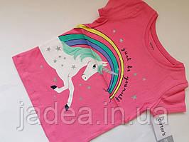 Яркая нарядная футболка Carter´s для девочки, Размер 2Т