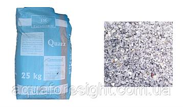 Кварцевый песок Filtersand, (различных фракций от 0,1 до 5,0 мм) - (25 кг/мешок)