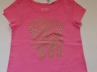 Очень красивая футболка для девочки the сhildren's place, размер 4Т