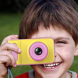 Детский фотоаппарат с экраном розовыйSMART KIDS CAMERA V7