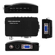 Конвертер S-Video BNC to VGA адаптер преобразователь, фото 4