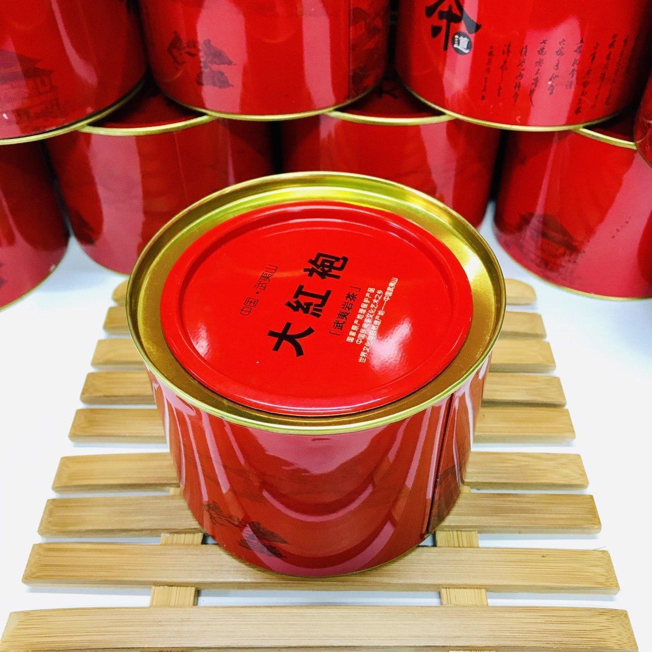 Подарочный Да Хун Пао в жестяной коробке 50 грамм