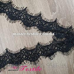 Французское Кружево 5.5 см (черное)