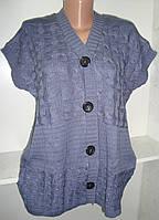 Женская жилетка на пуговицах недорого купить, фото 1