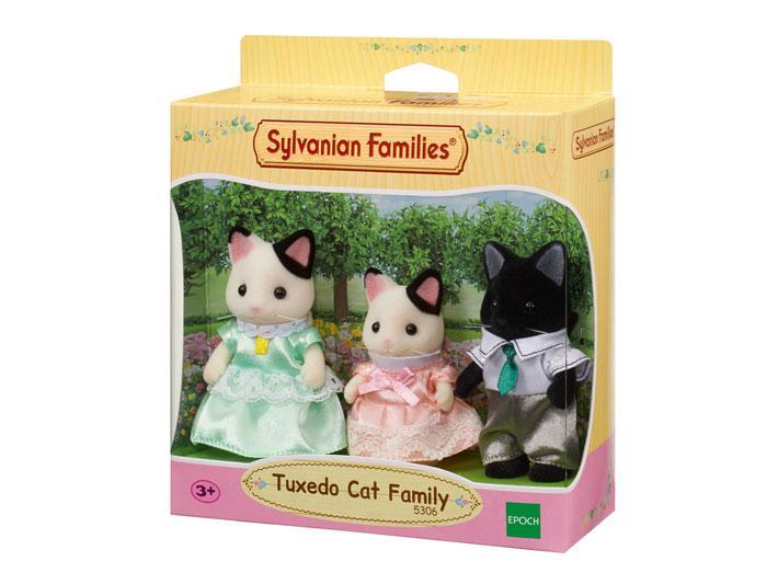Sylvanian Families Семья Котов в смокинге  (3 фигурки)   5306