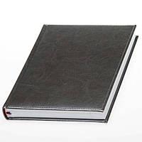 Ежедневник 'Небраска' от Lediberg серый производства Италии, недатированный, под тиснение логотипа, фото 1