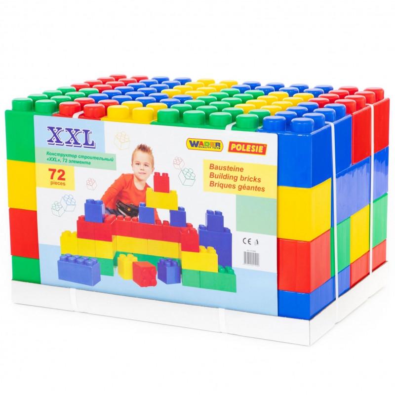 Будівельний Конструктор XXL 72 шт Wader 41999