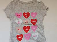 Летняя футболка для девочки, для малышки old navy, размер 2 Т