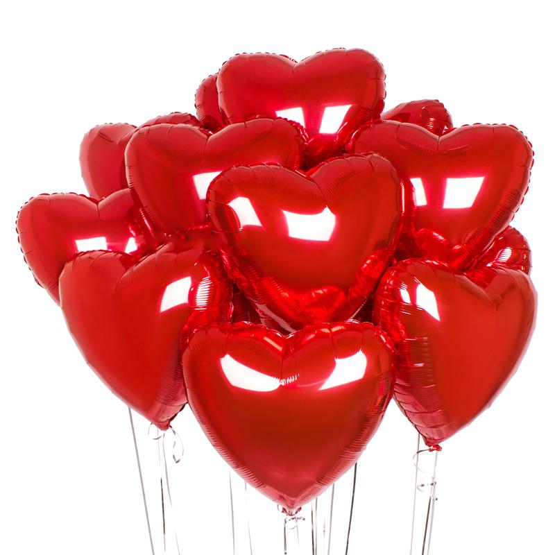 Гелієві кульки серце