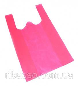 9040006 Эко сумка из спанбонда Розовая