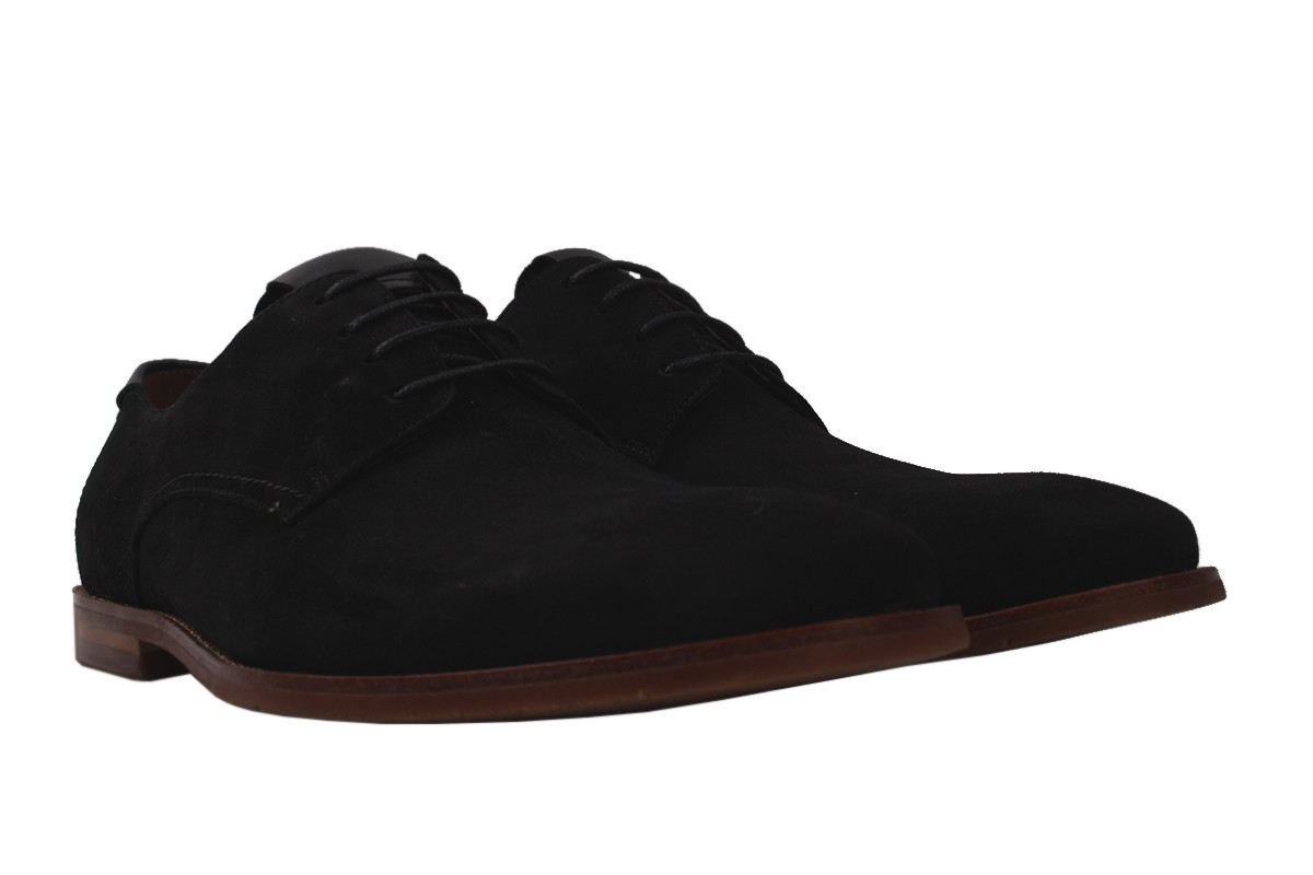 Туфли мужские Lido Marinozi натуральный замш, цвет черный, размер 39-44