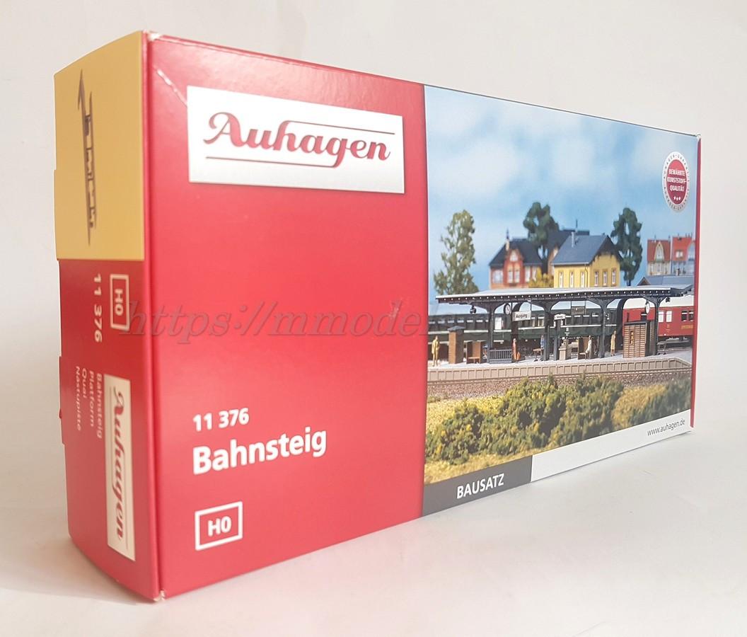 Auhagen 11376 Сборная модель перон для железнодорожной станции, масштаба H0 1:87