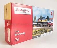 Auhagen 11376 Сборная модель перон для железнодорожной станции, масштаба H0 1:87, фото 1