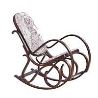 Кресло-качалка Max 2 Halmar 52х40x90 (V-CH-MAX_2-FOT_BUJANY-ORZECH) 071704