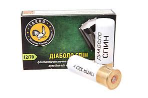 Патрон гладкоствольный Тахо кал.12  (пуля Диаболо Спин)