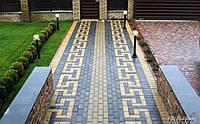 Тротуарная плитка Брусчатка Олива