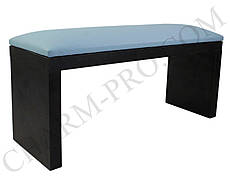 Маникюрная подставка для рук (Подлокотник) Голубой на черных ножках