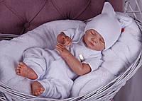 Набор для новорожденного 3 предмета Нежность белый