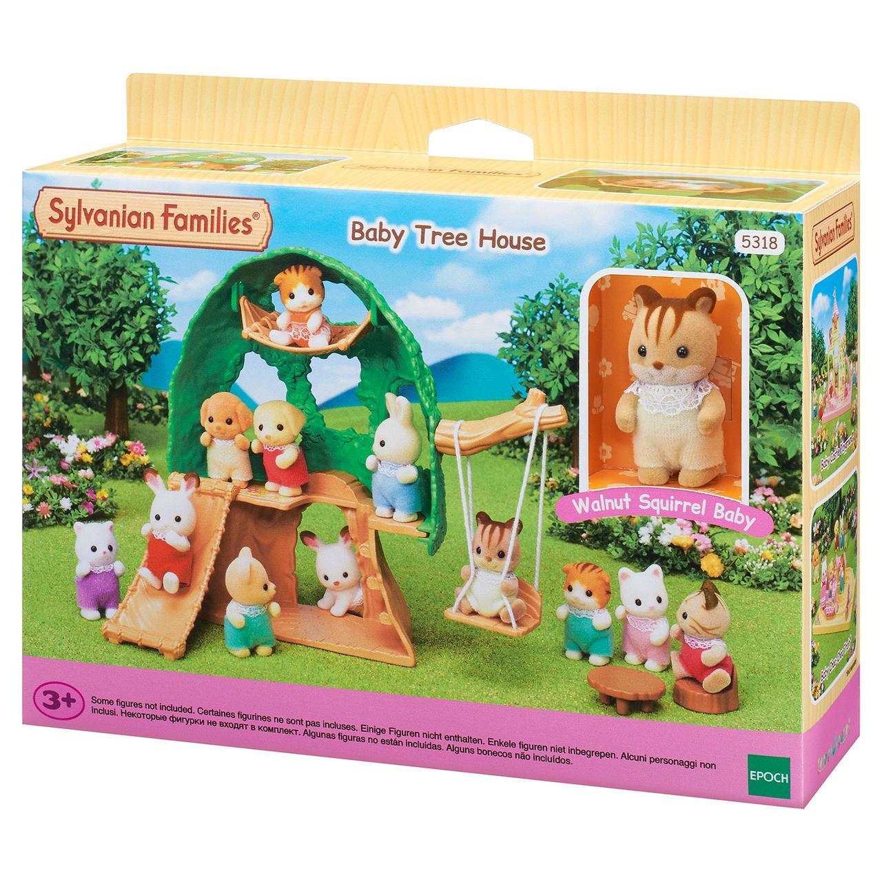 Игровой набор Sylvanian Families Домик-дерево для малышей  5318