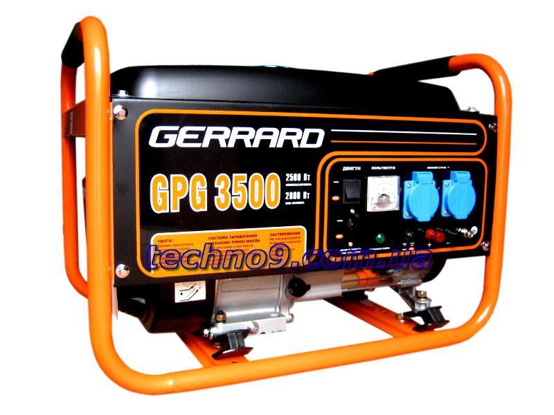 Генератор бензиновый Gerrard GPG 3500