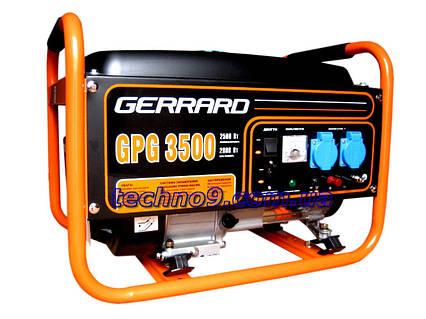 Генератор бензиновый Gerrard GPG 3500, фото 2