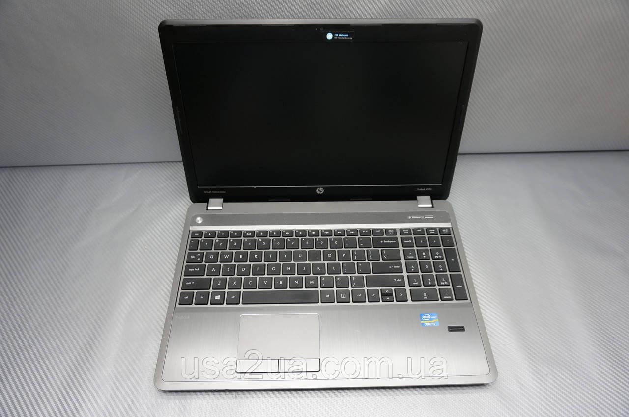 Бизнес Ноутбук HP ProBook 4540 I3 3gen 4Gb 128Gb SSD Web КРЕДИТ Гарантия Доставка Акция
