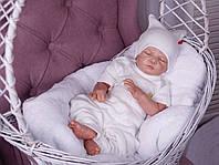 Набор для новорожденного 3 предмета Нежность айвори, фото 1