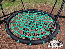 Качели Гнездо Аиста Lux 100 см., зеленый, фото 2
