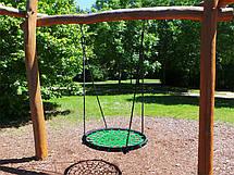 Качели Гнездо Аиста Lux 100 см., зеленый, фото 3