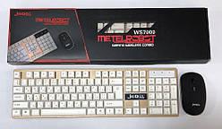 Бездротова клавіатура JEDEL RWS7000 + мишка