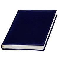 Ежедневник 'Небраска' с кремовой бумагой, Lediberg темно-синий, датированный на 2019г., под тиснение логотипа, фото 1
