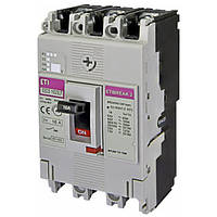 Автоматический выключатель EB2S 160/3LF 16А 3Р 16кА ETI 4671801